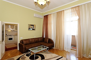 Apartment close to the Metro Ploshcha Lva Tolstogo, Un chambre, 004