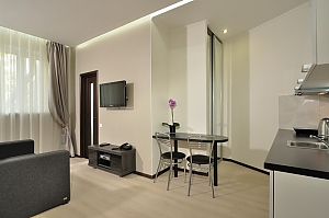 VIP apartment in modern style with jacuzzi, Monolocale, 004