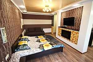 Chocolate - apartment in the center or Mariupol, Monolocale, 001