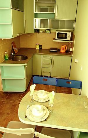 Квартира в самом центре на двоих, 1-комнатная, 003