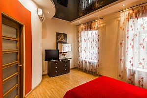 Apartment for 4 people in center, Zweizimmerwohnung, 002
