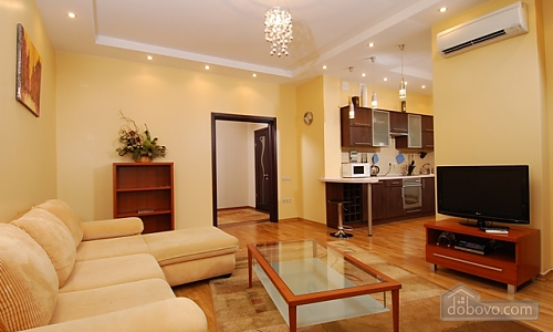 VIP apartment in a luxury house with an exclusive renovation and service, Zweizimmerwohnung (23068), 002