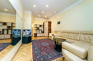 Lux apartment next to Ukraine Palace, Zweizimmerwohnung, 004