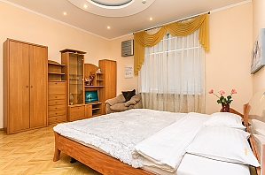 Lux apartment next to Ukraine Palace, Zweizimmerwohnung, 010