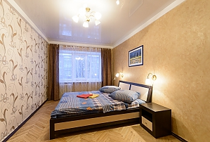 Apartment on Pechersk, Dreizimmerwohnung, 001