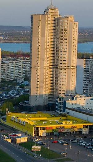 Apartment near Pozniaky metro station, One Bedroom, 013