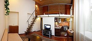 Duplex apartment in the center, Studio, 001