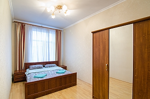 One bedroom apartment with separate bedrooms, One Bedroom, 001