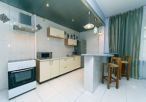 The apartment in a historic building in the center of the city, Three Bedroom, 004