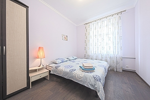 Уютная квартира в центре, 2х-комнатная, 001