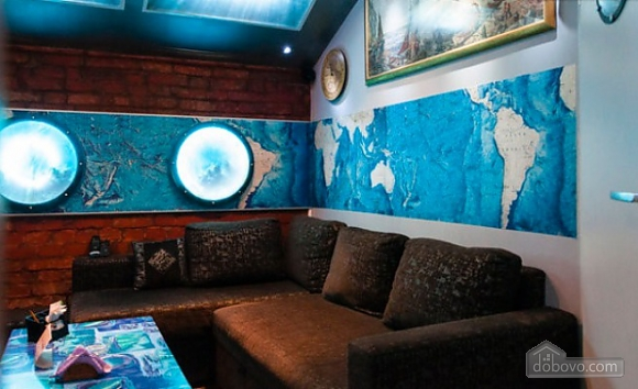 Ексклюзивна квартира в стилі батискафа, 2-кімнатна (17180), 001