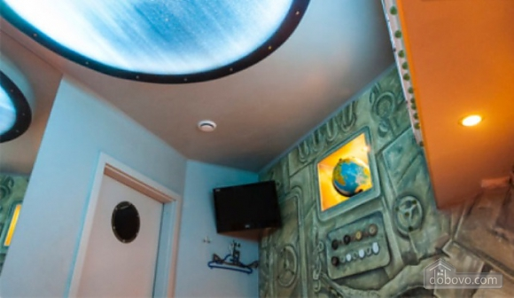 Exclusive apartment in the style of the bathyscaphe, Una Camera (17180), 006