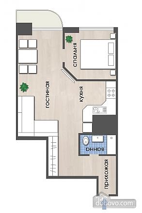 5a Hahrinskiy, Un chambre (72325), 016