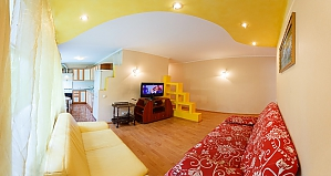 Comfortable apartment in the center of Kiev, Una Camera, 002
