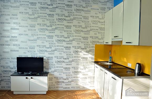 Комфортабельна квартира в центрі, 1-кімнатна (26261), 004