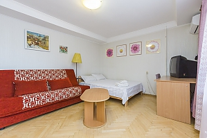 Bright apartment with air conditioning, Monolocale, 003
