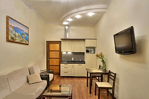Apartment with Jacuzzi in the center, Un chambre, 001