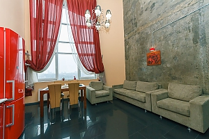 Penthouse in loft style, Tre Camere, 001