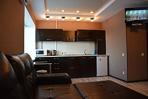Studio apartment in the centre with the view of Dnepr river, Studio, 003