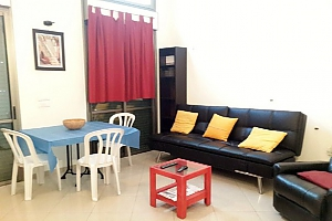 Apartment in Tel Aviv with a yard, Un chambre, 004
