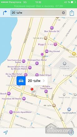 Апартаменты в Тель-Авиве с двориком, 2х-комнатная (76495), 018