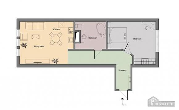 Квартира з усіма зручностями, 2-кімнатна (79694), 011