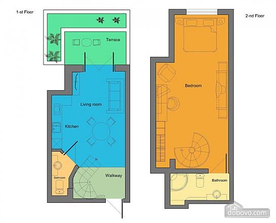 Duplex apartment, Un chambre (26075), 010