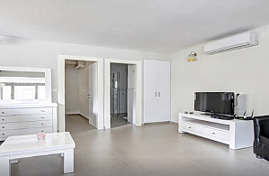 Apartment in white colors, One Bedroom, 002