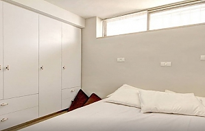 Apartment in white colors, One Bedroom, 004