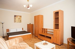 The apartment near the metro station Belorusskaya, Un chambre, 001