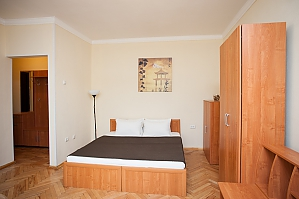 The apartment near the metro station Belorusskaya, Un chambre, 002