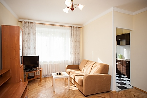 The apartment near the metro station Belorusskaya, Un chambre, 004