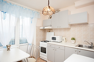 Apartment next to metro Nakhimovsky Prospect, Un chambre, 004