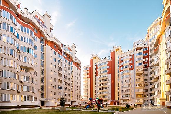 Элитная квартира с круглой кроватью и джакузи, 1-комнатная (61079), 018