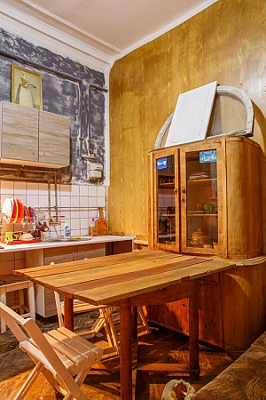 Wooden hostel, Studio, 002