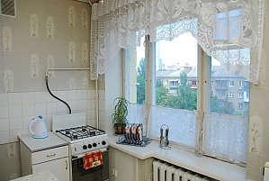 Cozy apartment near to Pecherska station, One Bedroom, 003