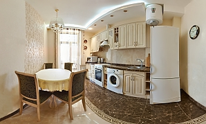 Luxurious accommodation in the city center of Kharkov, Dreizimmerwohnung, 002
