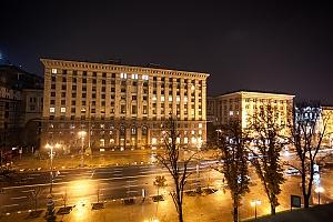 Видовая квартира на Крещатике, 2х-комнатная, 016