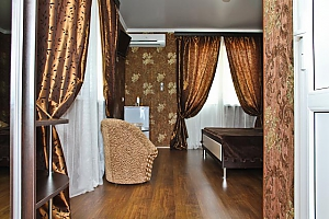 Standard double suite with mountain and sea views in Poseidon hotel, Studio, 003
