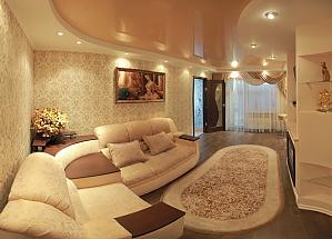 Уютная и приятная квартира в центре города, 2х-комнатная, 001
