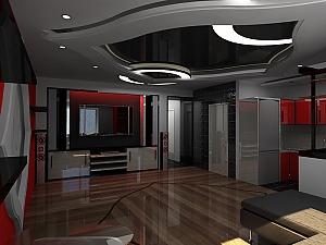 Чудові апартаменти, 2-кімнатна, 002