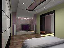 Чудові апартаменти, 2-кімнатна, 003