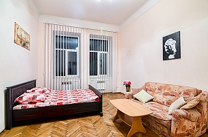 Spacious apartment in the center, One Bedroom, 004