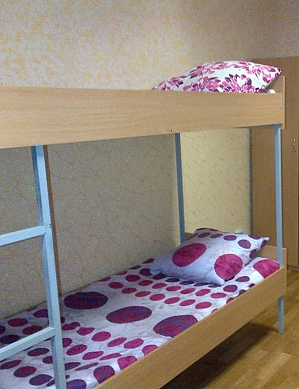 Bed in hostel, Two Bedroom, 001