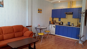Duplex apartment near shopping mall Ljubava, Zweizimmerwohnung, 001