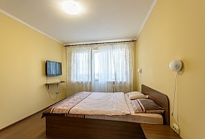 Apartment with a big bed, Monolocale, 001