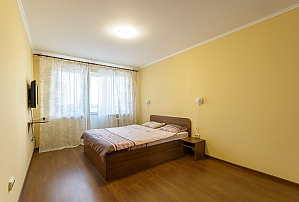 Apartment with a big bed, Monolocale, 002