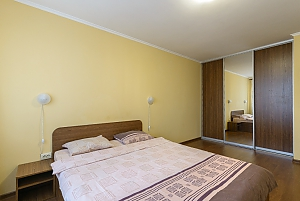Apartment with a big bed, Monolocale, 004