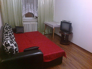 Apartment near the metro Shuliavska, Un chambre, 001