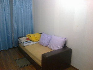 Apartment near the metro Shuliavska, Un chambre, 002